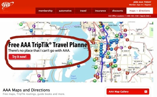 Www Aaa Com Triptik Travel Planner