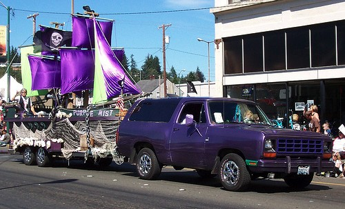 Parade in Aberdeen, WA