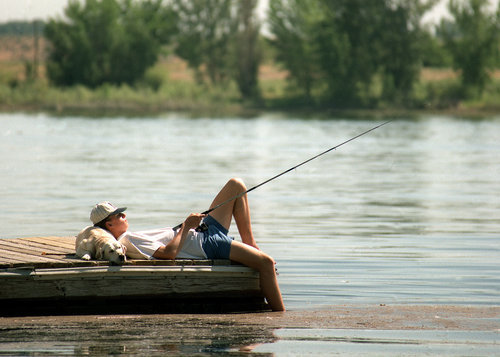 Fishing the Columbia River