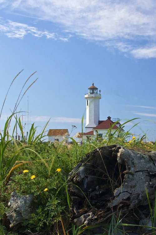 Lighthouse at Fort Worden State Park