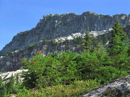 Mount Pilchuck, fantastic rock climbing