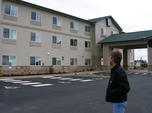 Quality Inn & Suites, one of the nicest Sequim Motel