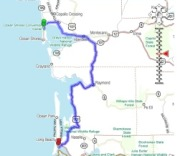 Washington State Cities And Towns WashingtonCoastAdventurescom - Map of washington coast