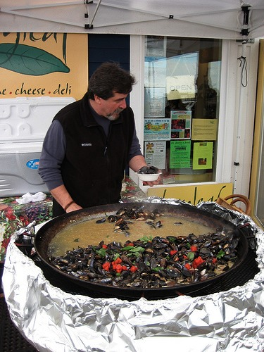 Penn Cove Mussel Festival, Whidbey Island, WA
