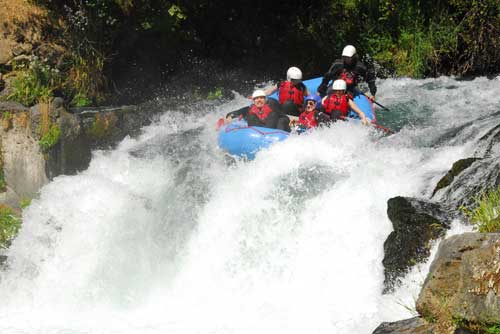 White water rafting, Washington is a huge thrill whatever your skill level or ability.