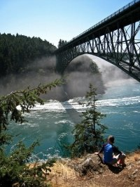 Discover Washington State Parks, awesome attractions of Nature. This is Deception Pass.