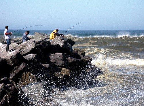 Fishing Ocean Shores, Washington
