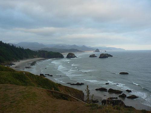 Ocean Shores camping. Enjoy spectacular sea views