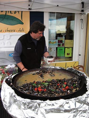 Penn Cove Mussel Festival, Whidbey Island, WA